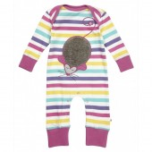 Mouse applique playsuit