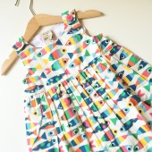 Little Pretty Party Dress, Rainbow Fish